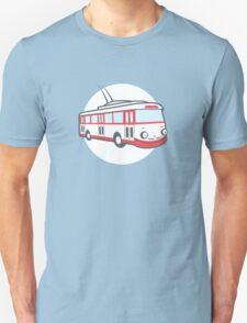 Friendly retro trolleybus Salvador T-Shirt