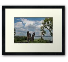 Coyuga Lake Afternoon Framed Print