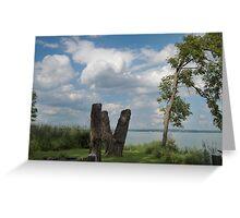 Coyuga Lake Afternoon Greeting Card