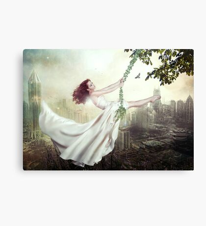 On The Edge Of Forever Canvas Print
