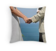 Joining of one Throw Pillow