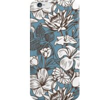 White Pedals iPhone Case/Skin