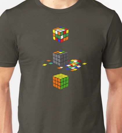 How to solve the Rubik's Cube Unisex T-Shirt
