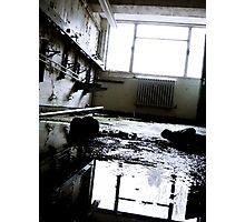 Forgotten Shoes ~ Buckston Browne Farm Photographic Print