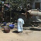 Gambia - backyard by Gili Orr