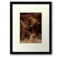 Creep. Framed Print