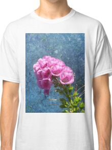 Foxglove with texture reaching for the sky. Classic T-Shirt