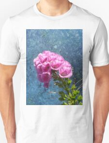 Foxglove with texture reaching for the sky. Unisex T-Shirt