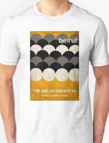 Beirut World Tour Poster Unisex T-Shirt