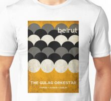Beirut World Tour Poster Unisex T-Shirt