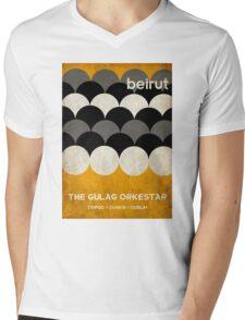 Beirut World Tour Poster Mens V-Neck T-Shirt