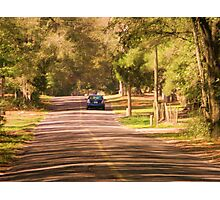 long road home Photographic Print