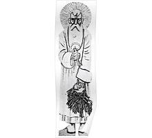 Theodor Kittelsen Peter noekkelmann nøkkel Saint Peter the key man Poster