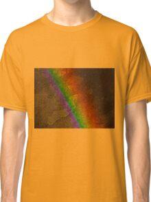 Rainbow on Stone Classic T-Shirt