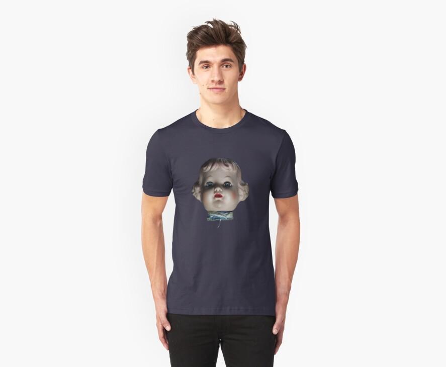 Doll Head T-Shirt by Benjamin Lehman