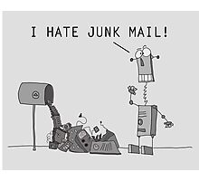 I Hate Junk Mail Photographic Print
