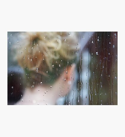 Wedding rain Photographic Print
