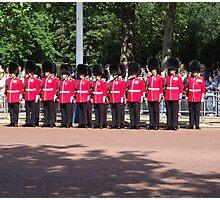 Royal Guards Photographic Print