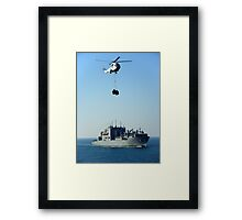 Time for a top up Framed Print