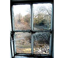 Window on the world ~ Pool Park Asylum Photographic Print