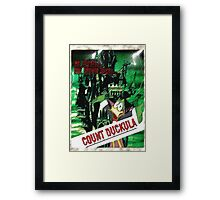 Duckula the B Movie Framed Print
