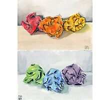 Crumpled Series Print Photographic Print