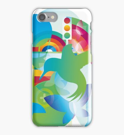 OVER THE RAINBOW: BIRD II iPhone Case/Skin