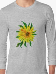 Sunflower Sunshine of Your Love  Long Sleeve T-Shirt