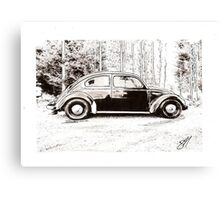Daily Drive Canvas Print