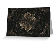 Ornate Blossom Greeting Card