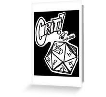 Crit! Greeting Card