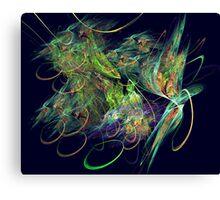 Lost Dreams-Abstract fantasy fractal art Canvas Print