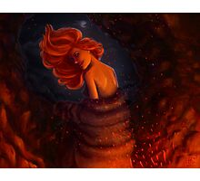Kissed by fire - Ygritte Photographic Print