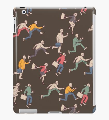 hurry up! iPad Case/Skin