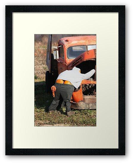 Mr. Pumpkin Butt by Renee Blake