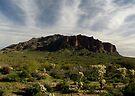 Superstition Mountain ~ Apache Trail, Arizona by Kimberly Chadwick