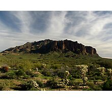 Superstition Mountain ~ Apache Trail, Arizona Photographic Print