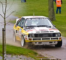 Audi Sport Quattro  by Willie Jackson