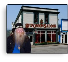 Red Onion Saloon Skagway Canvas Print