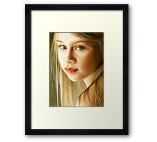 Mona Lisa Smile Framed Print