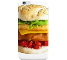 1:12th Scale Chicken Tower Burger iPhone Case/Skin