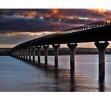 Clackmannanshire Bridge Photographic Print