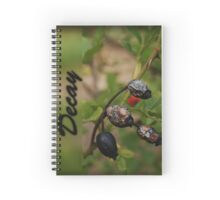 decaying rosehips Spiral Notebook