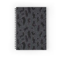 BLACK CATS Spiral Notebook