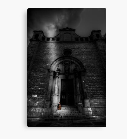 A Meager Existence Canvas Print