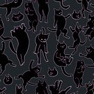 BLACK CATS by siins