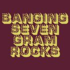 banging seven gram rocks by frigginrockstar