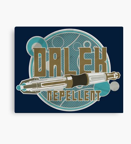 DALEK REPELLENT Canvas Print
