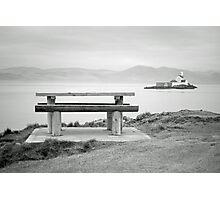 Fenit Lighthouse. Little Samphire Island. Kerry. Photographic Print