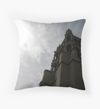 Sanctuary Through Day and Night - Lausanne, Switzerland Throw Pillow